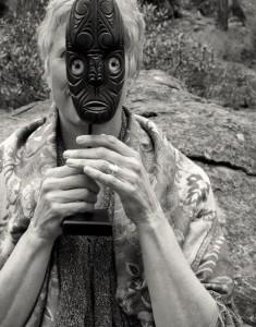 Moe b & W mask
